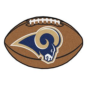 FANMATS Los Angeles Rams Football Rug