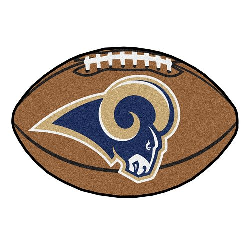FANMATS Los Angeles Rams Football Rug
