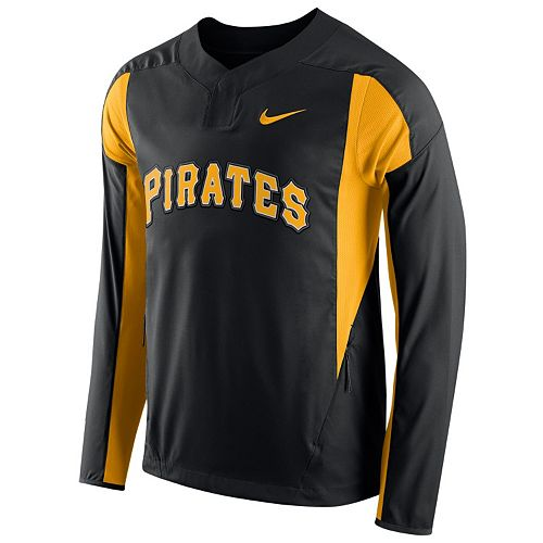 best loved 6009a 98a61 Men's Nike Pittsburgh Pirates Windbreaker Pullover