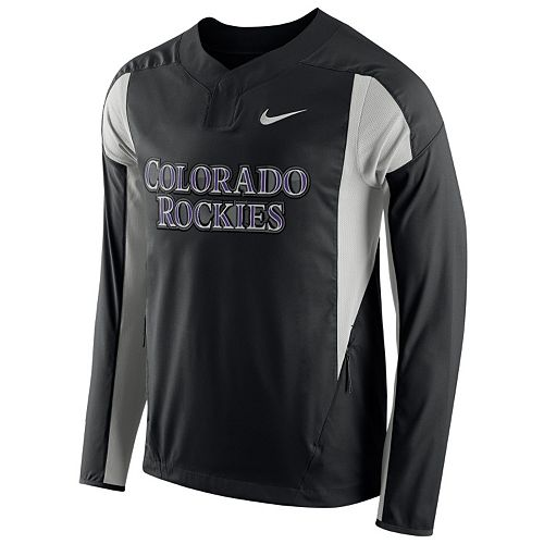 Men's Nike Colorado Rockies Windbreaker Pullover