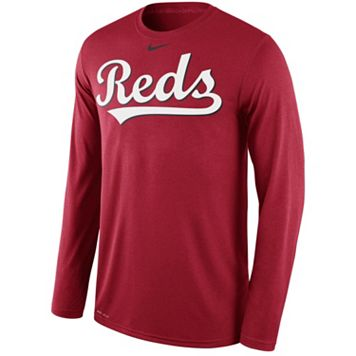 Men's Nike Cincinnati Reds Wordmark Dri-FIT Legend Tee