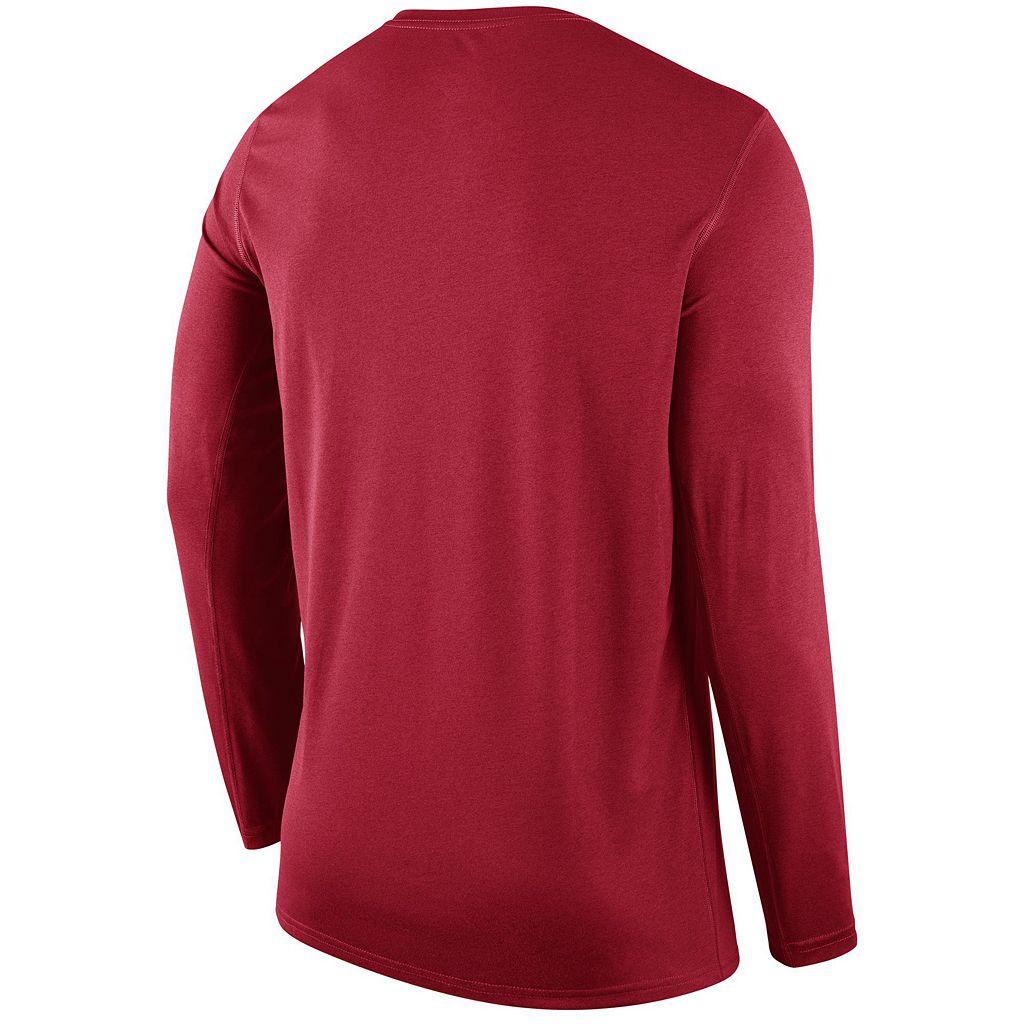 Men's Nike Cincinnati Reds Wordmark Dri-FIT Legend Tee
