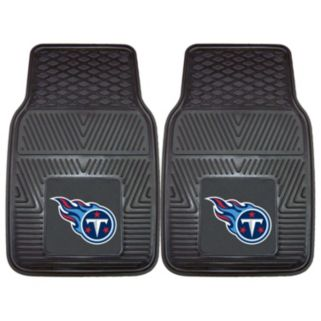 FANMATS Tennessee Titans 2-Pack Heavy Duty Car Mats