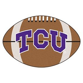 FANMATS TCU Horned Frogs Football Rug