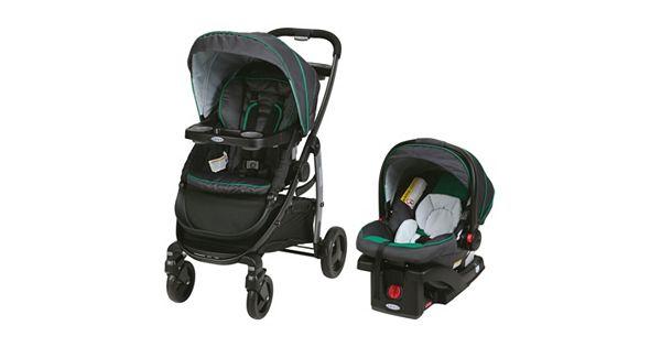 graco modes click connect travel system stroller. Black Bedroom Furniture Sets. Home Design Ideas