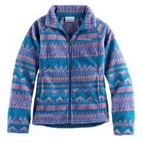 Toddler Girl Columbia Three Lakes Fleece Midweight Jacket