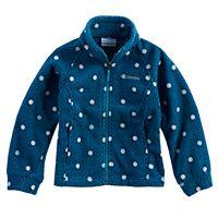 Toddler Girl Columbia Three Lakes Fleece Midweight Jacket