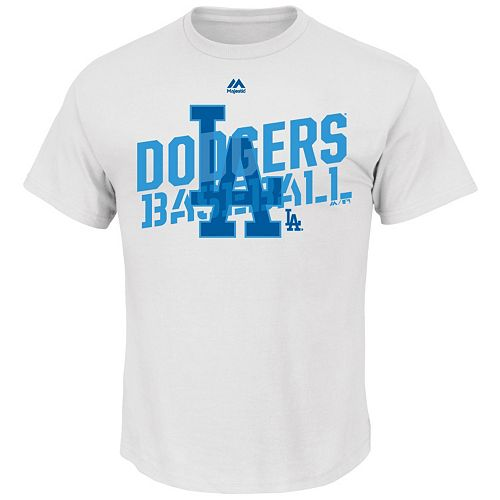 Big & Tall Majestic Los Angeles Dodgers Graphic Tee