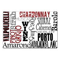 Gourmet Pro Typography Placemat