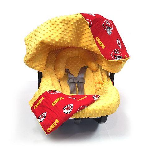 check out 3c8d5 2d4a1 Baby Fanatic Kansas City Chiefs Caboodle 5-Piece Car Seat ...