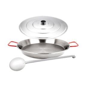 Magefesa 3-pc. Stainless Steel Paella Pan Set