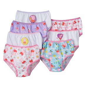 Girls 4-8 Peppa Pig 7-pk. Bikini Panties
