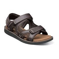Nunn Bush Bluffside Men's Double-Strap Sandals