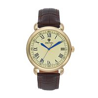 Croton Men's Heritage Leather Watch