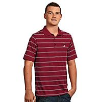 Men's Antigua Alabama Crimson Tide 2015 National Champions Deluxe Polo