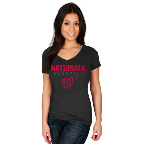 Plus Size Majestic Washington Nationals Baseball Tee