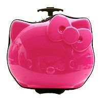 Hello Kitty® Shaped Hardside Wheeled Carry-On Luggage