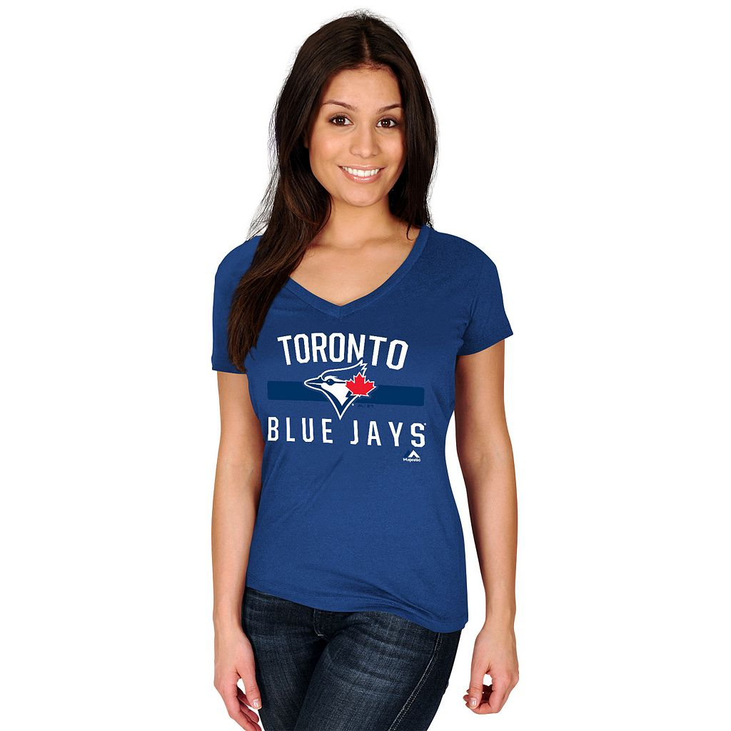 Plus Size Majestic Toronto Blue Jays One Game at a Time Tee