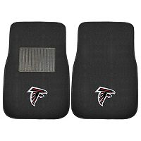 FANMATS Atlanta Falcons 2-Pack Embroidered Car Mats