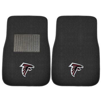 FANMATS Atlanta Falcons 2-Pack Embroidered Car Mats