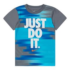Boys 4-7 Nike Dri-FIT Sublimated 'Just Do It' Tee