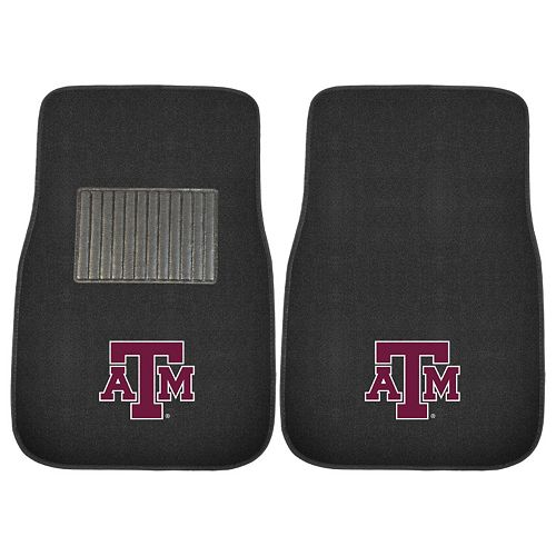 FANMATS Texas A&M Aggies 2-Pack Embroidered Car Mats