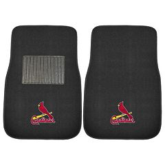 FANMATS St. Louis Cardinals 2-Pack Embroidered Car Mats