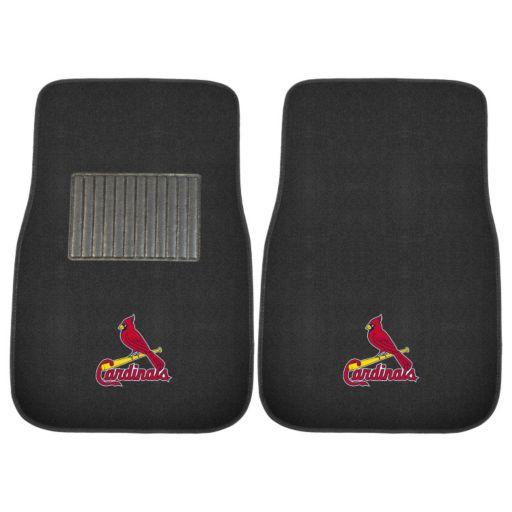 FANMATS St. Louis Cardinals 2-Pack Embroidered Car Mats