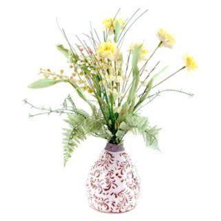 Designs by Lauren Artificial Yellow Wildflowers Arrangement