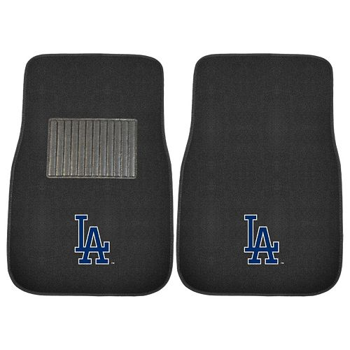 FANMATS Los Angeles Dodgers 2-Pack Embroidered Car Mats