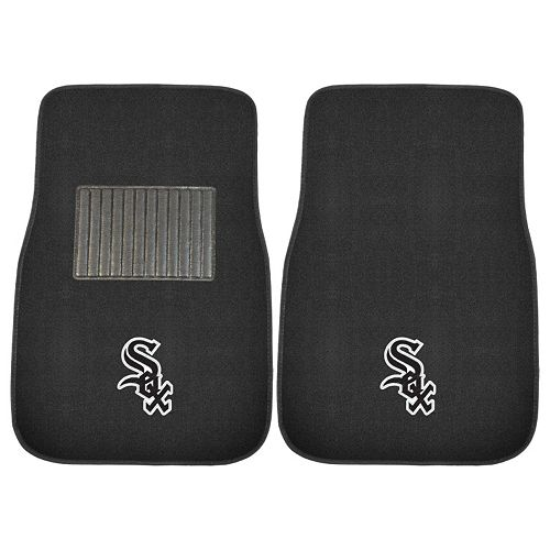 FANMATS Chicago White Sox 2-Pack Embroidered Car Mats