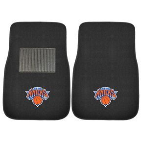 FANMATS New York Knicks 2-Pack Embroidered Car Mats
