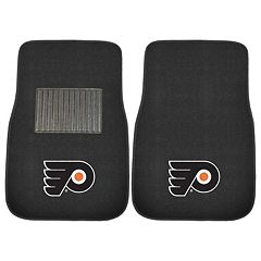 FANMATS Philadelphia Flyers 2-Pack Embroidered Car Mats