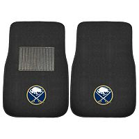 FANMATS Buffalo Sabres 2-Pack Embroidered Car Mats