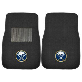 FANMATS Buffalo Sabres 2-Pack Embroidered Car Mats