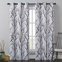 VCNY Kingdom Branches Curtains - 40'' x 84''