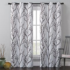 VCNY Kingdom Branches Window Curtains - 40'' x 84''