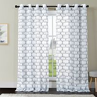 VCNY Khara Ogee Window Curtain