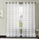 VCNY Khara Ogee Window Curtain