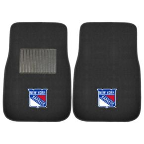 FANMATS New York Rangers 2-Pack Embroidered Car Mats
