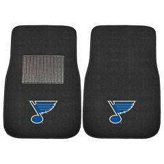 FANMATS St. Louis Blues 2-Pack Embroidered Car Mats