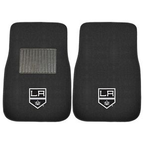 FANMATS Los Angeles Kings 2-Pack Embroidered Car Mats