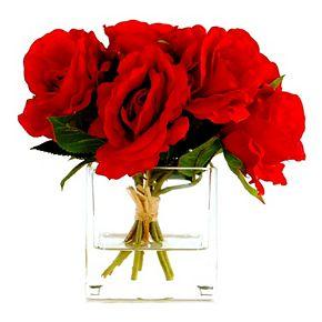 Designs by Lauren Artificial Red Rose Arrangement