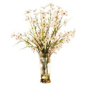 Designs by Lauren Artificial Dogwood Flower Arrangement