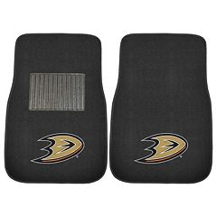 FANMATS Anaheim Ducks 2-Pack Embroidered Car Mats
