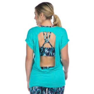 Women's PL Movement by Pink Lotus Cross-Back Yoga Top