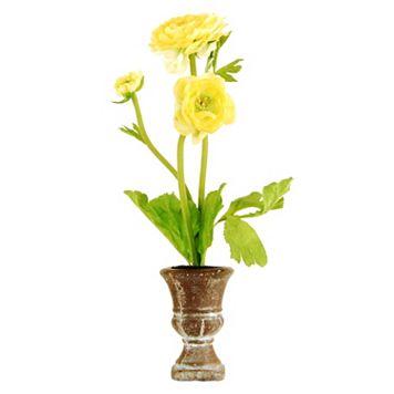 Designs by Lauren Artificial Ranunculus Arrangement