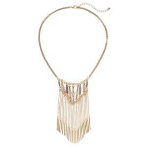 C.O. & Co. Beaded Tassel Necklace