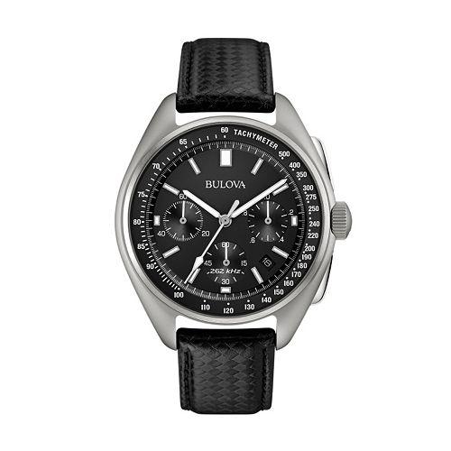 Bulova Men's Special Edition Lunar Pilot Chronograph Watch & Interchangeable Band Set - 96B251