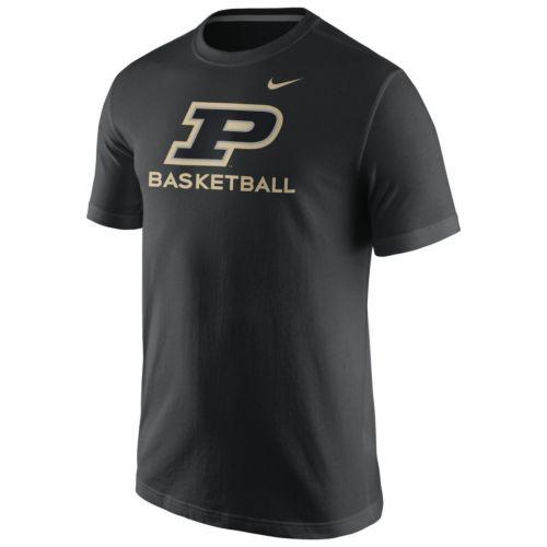 Men's Nike Purdue Boilermakers Basketball Tee